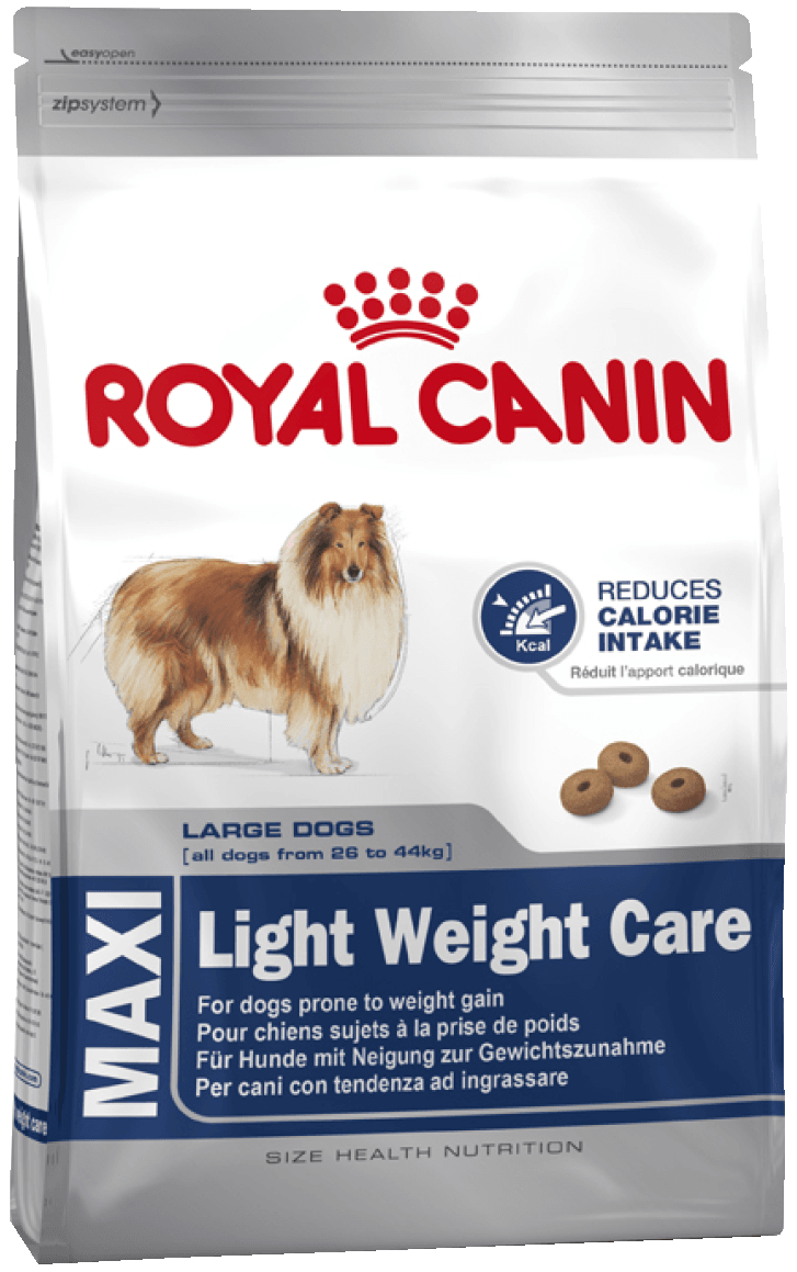 картинка Royal Canin Maxi Light Weight Care для собак, склонных к полноте от магазина Zoo Story